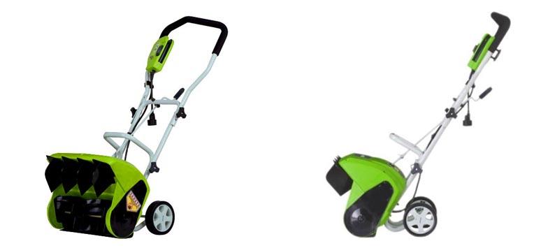 5. GreenWorks 26022 10 Amp Corded Snow Shovel
