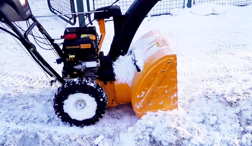 Cub Cadet Snow Blower Review