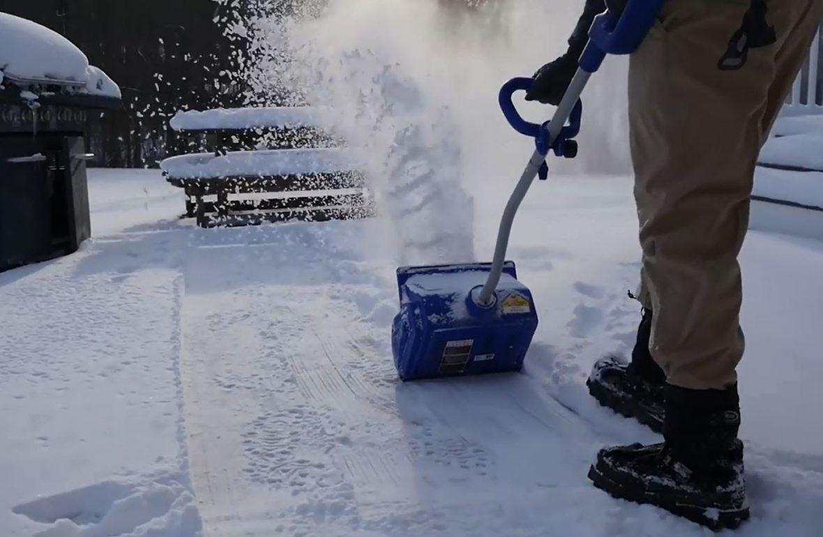 Snow Joe Ion 13ss Shovel Review