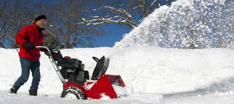 Two and Three-Stage Snow Blowers