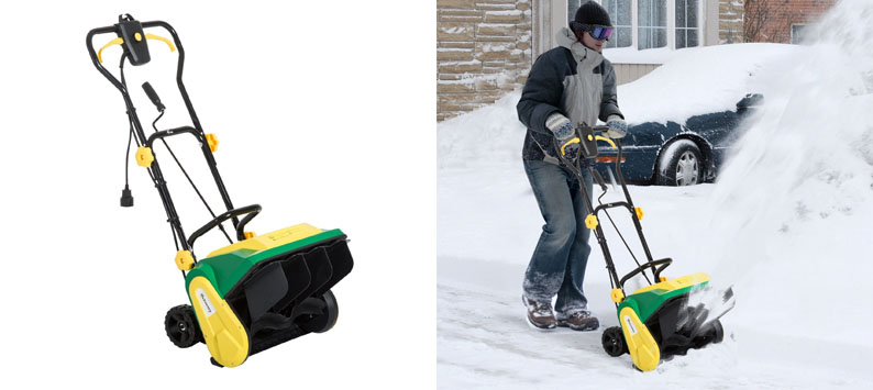 7.Outsunny 16-inch Snow Blower