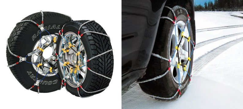 1. Security Chain Company SZ143 Cable Snow Tire Chains