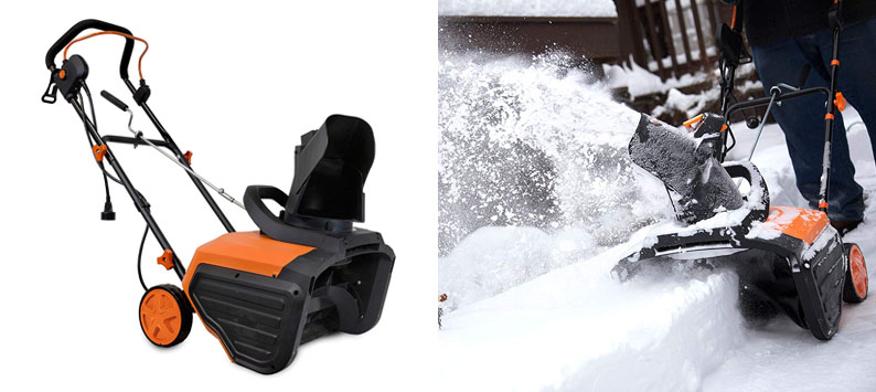 6. WEN 5662 Snow Blaster Electric Snow Shovel