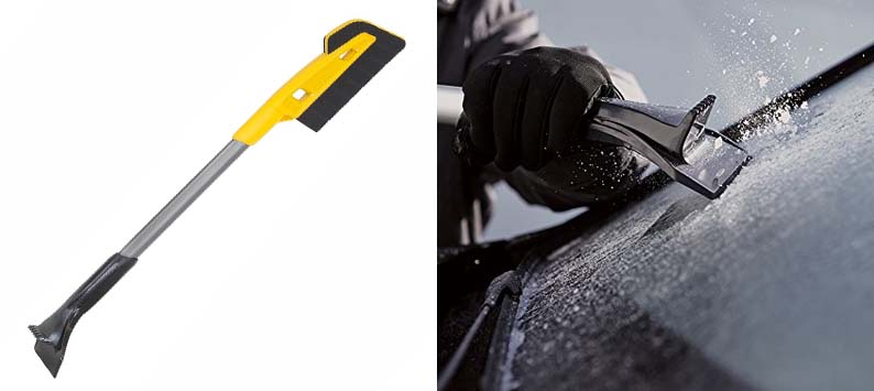 4. True Temper Scratch-Free Snow Brush