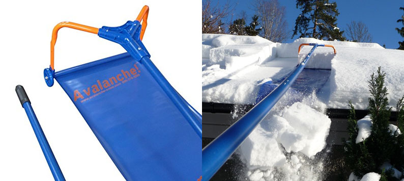 1. Avalanche Roof Rake - Original 500 Snow Removal System