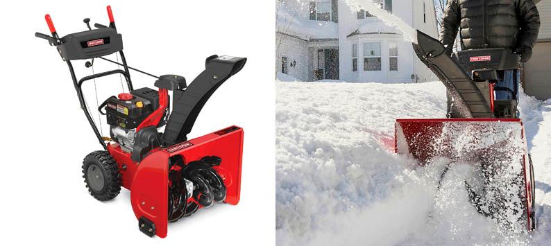2. Craftsman 88173 24″ Snow Blower