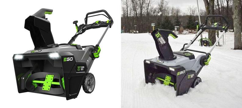 4. EGO 21-inch Cordless Snow Blower