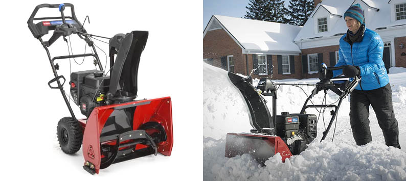 4. Toro Snowmaster 724 QXE