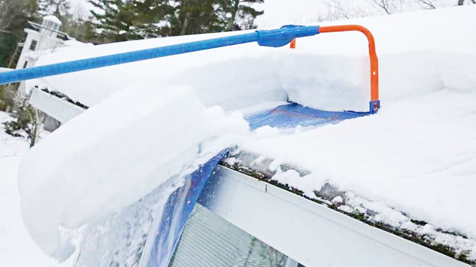 Getting Snow Off Roof