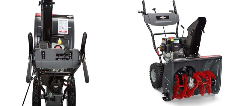 Briggs & Stratton 24 Dual Stage Snow Blower w Electric Start and 208 Snow Series Engine