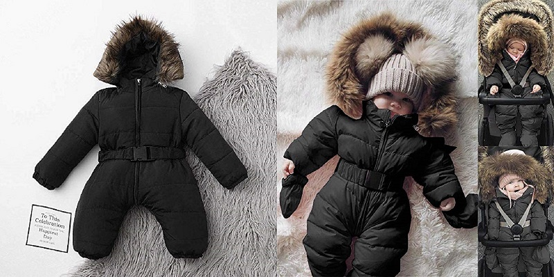 Baby Snowsuit Puffer Down Jacket
