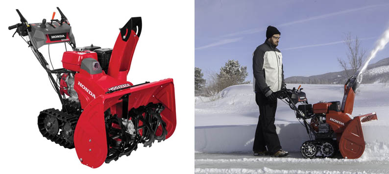 Honda Power Equipment HSS1332AAT Two-Stage Commercial Snow Blower