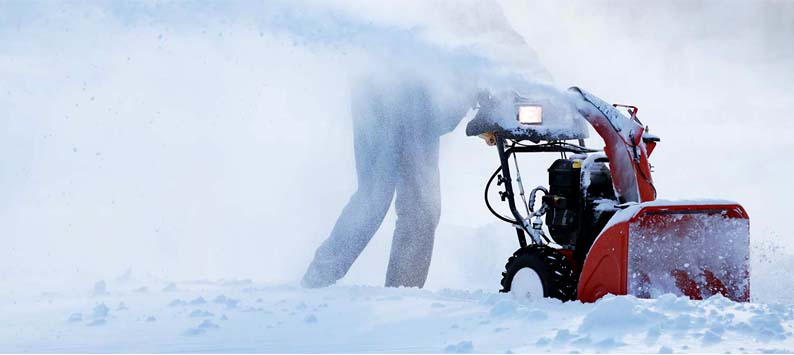 Two-Stage Snow Blower