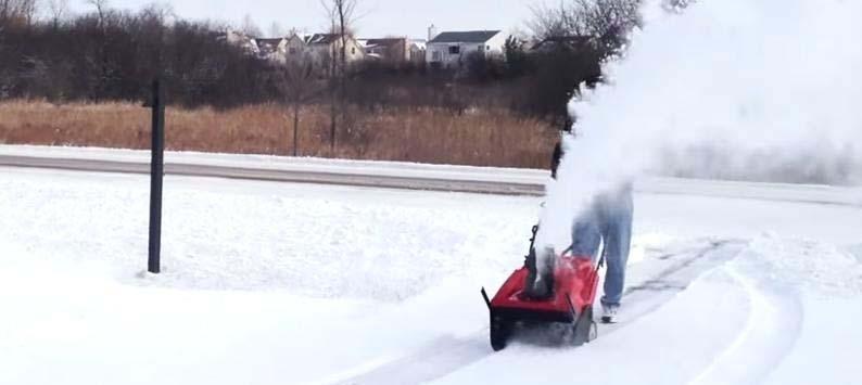 particular snow blower