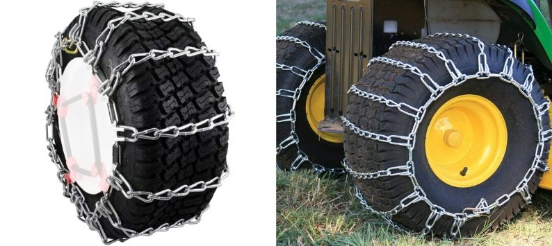 Security Chain Max Trac Snow Blower Garden Tractor Tire Chain